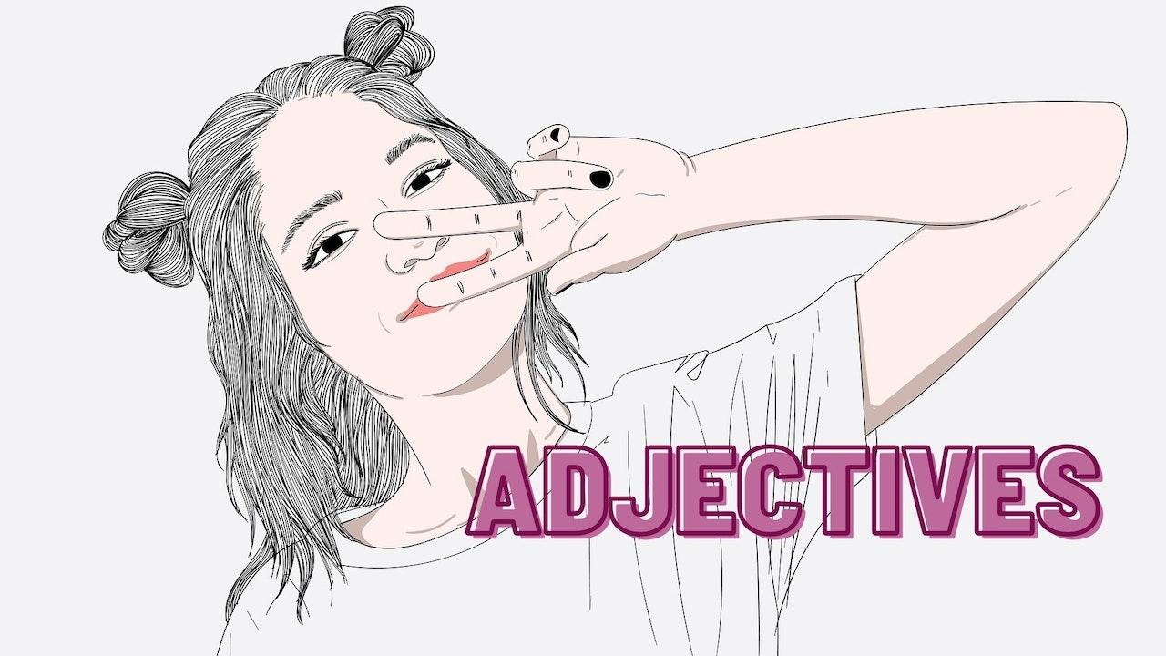 Adjectives   Grammar