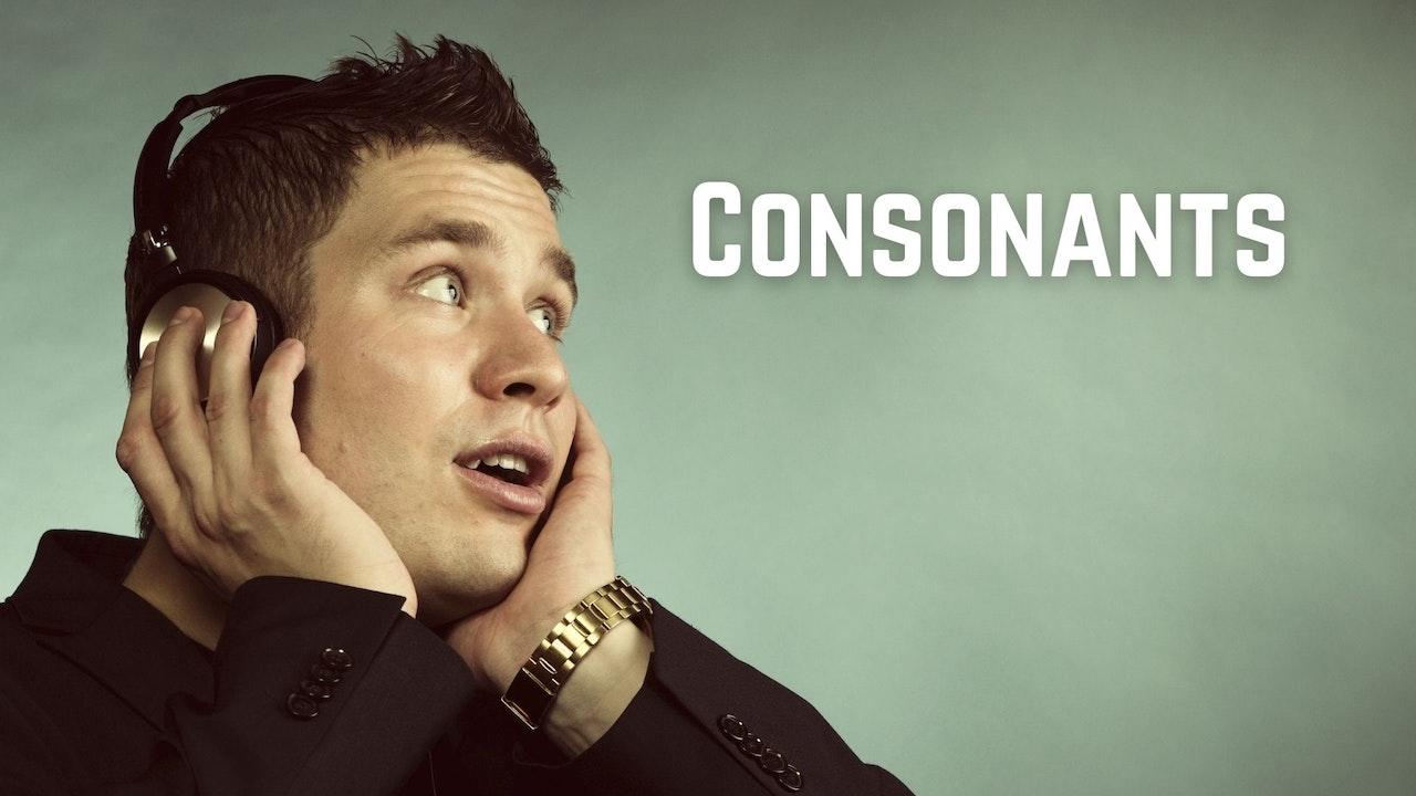 Consonants | Pronunciation