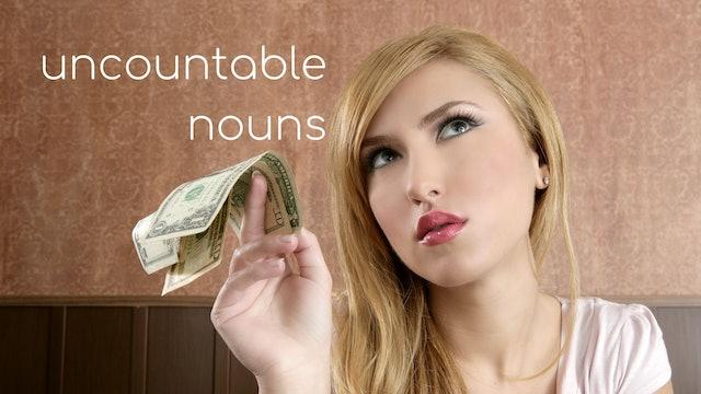 Uncountable nouns   Grammar