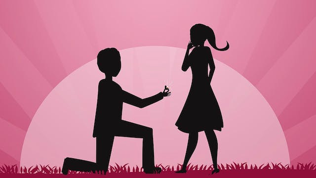 Popping the question
