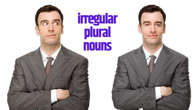 Irregular plural nouns   Grammar
