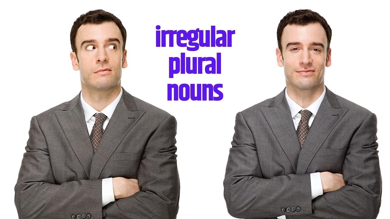Irregular plural nouns | Elementary