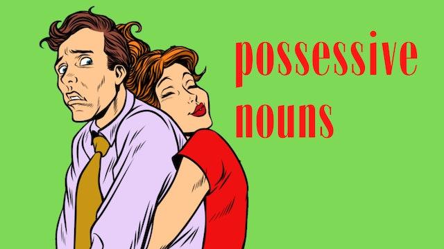 Possessive nouns   Grammar