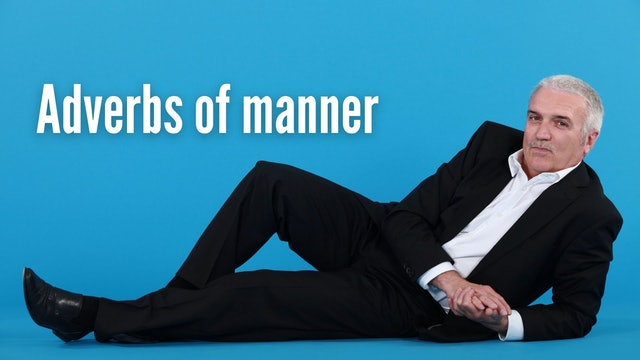 Adverbs of manner   Grammar