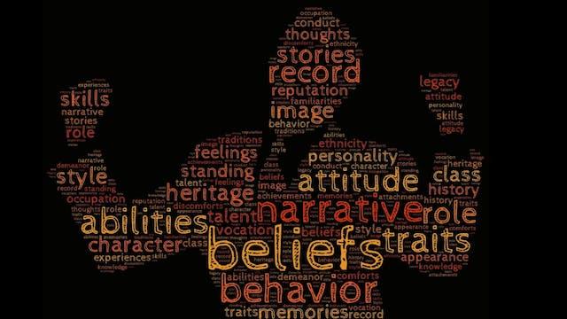 Values, beliefs and attitudes