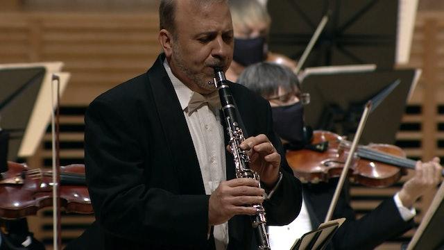 "S21E02.04 Aaron Copland: ""Clarinet Concerto"", Robert DiLutis, clarinet"