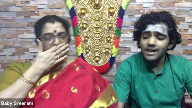 Paahi Saarasanabha - Saveri - Maharaja Swati Tirunal