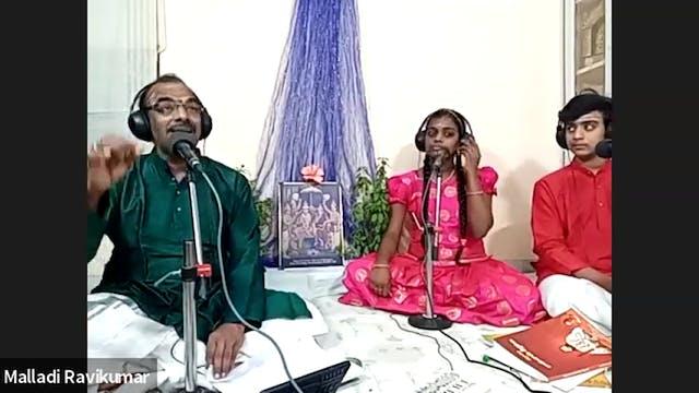 Rama rama shree rama-Ragamalika - Bhadrachala Ramadasa