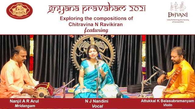 Compositions of Chitravina N Ravikiran Concert 2