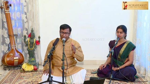 Rasika mahottama- Sarasangi – OVK