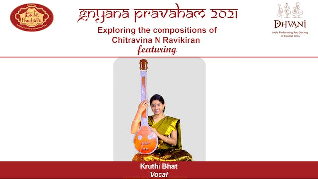 Compositions of Chitravina N Ravikiran Concert 1