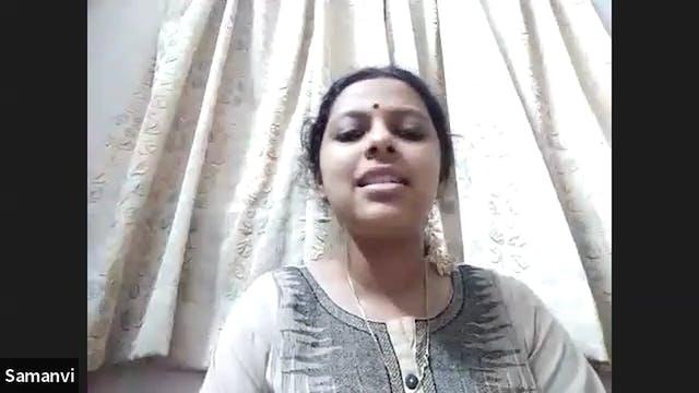 Manodharma Session - Raga Kalyani - Part 1