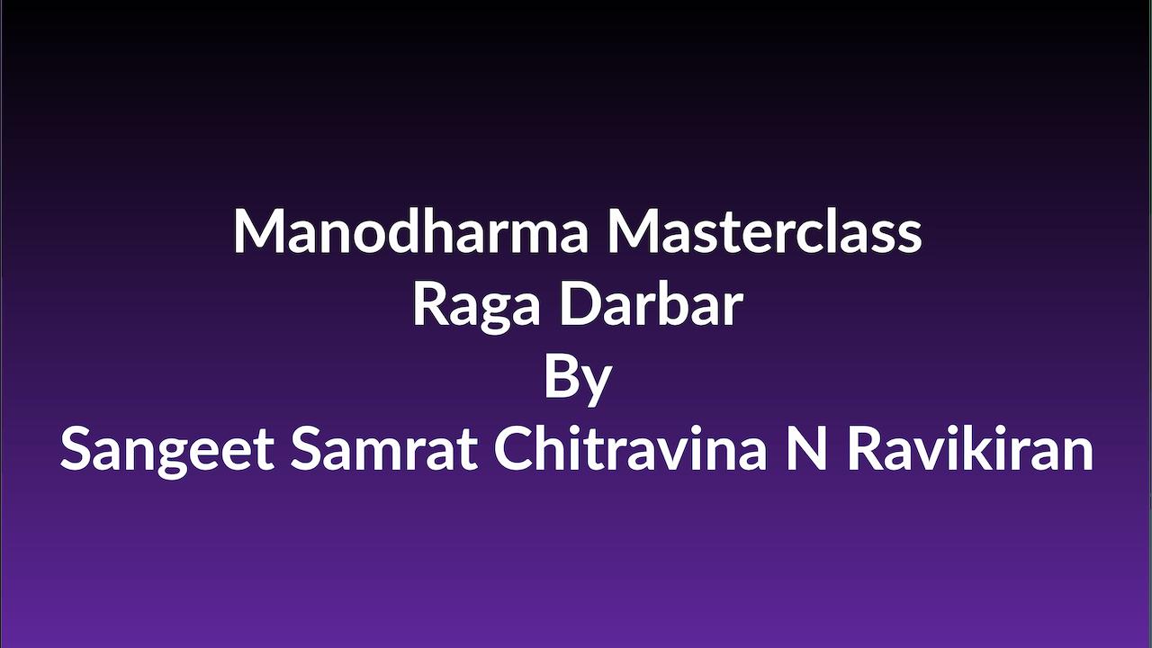 Learn how to Sing Raga Darbar