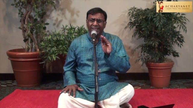 Sama mudal – Navaroz – Khanda chapu – Oottukkadu Venkata Kavi