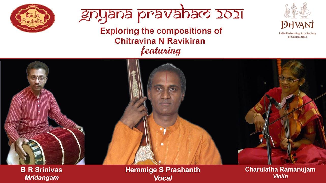 Compositions of Chitravina N Ravikiran- Concert 4