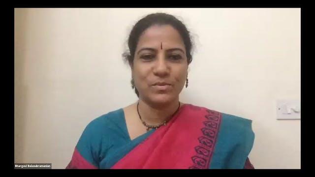 Swaraparichaya - Bhargavi Balasubramaniam