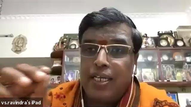 Introduction by Udayalur Dr K Kalyanaraman