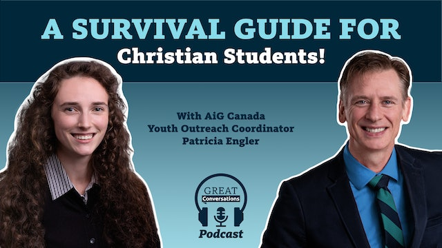A survival guide for Christian students! With Patricia Engler
