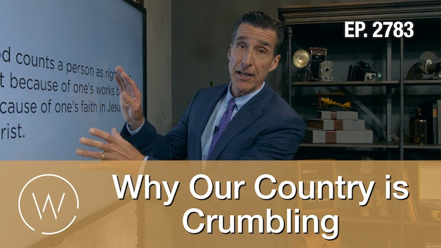 Why Our Country is Crumbling