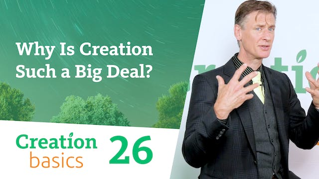 Why Is Creation Such a Big Deal?