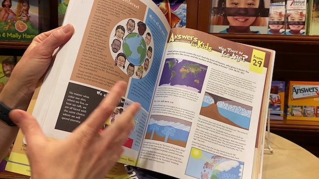 Homeschooling with Answers in Genesis Curriculum for Elementary and Junior High