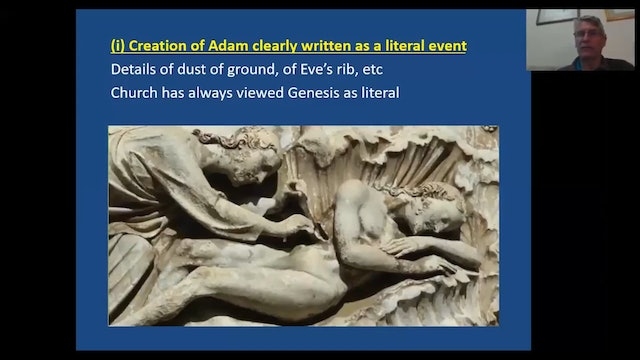 Death in Adam, Life in Christ  Why Theistic Evolution is Wrong (with Prof. Stuart Burgess)