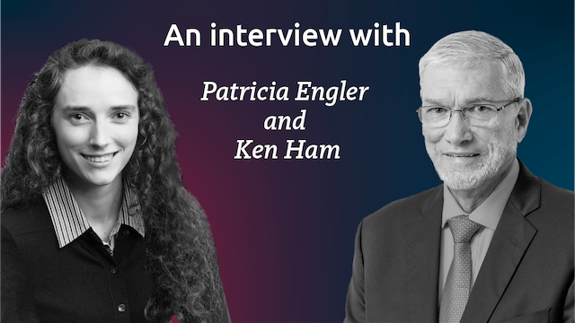 Ken Ham and Patricia Engler Interview