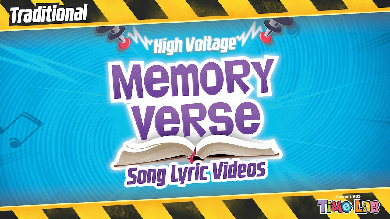 Time Lab Traditional Memory Verse Songs