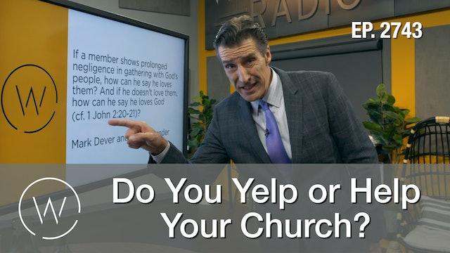 Do You Yelp or Help Your Church?