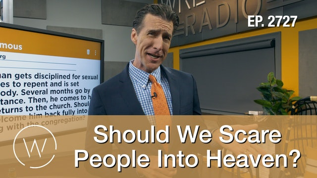 Should We Scare People Into Heaven?