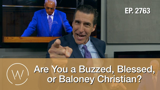 Are You a Buzzed, Blessed, or Baloney Christian?