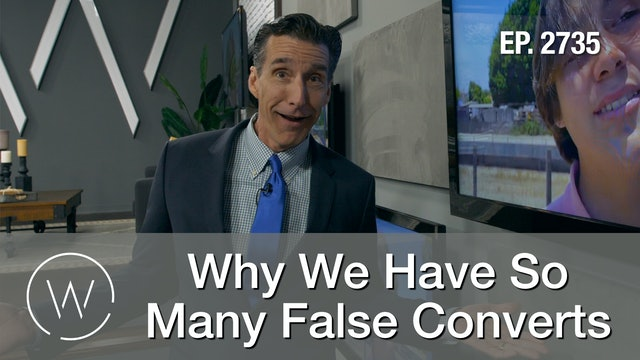 Why We Have So Many False Converts