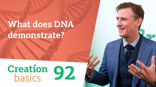What does DNA demonstrate?