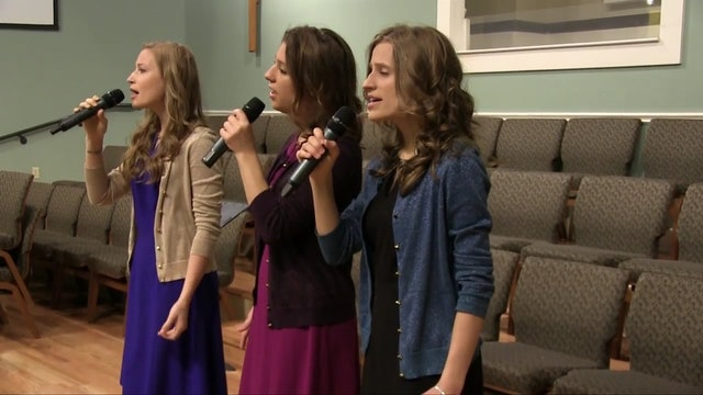 Sweet Little Jesus Boy - a cappella trio | Foto Sisters