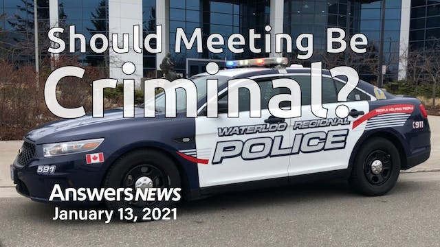 1/13 Should Meeting Be Criminal?