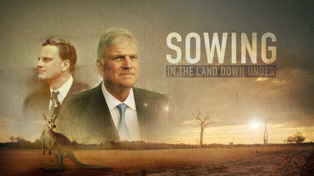Sowing in the Land Down Under