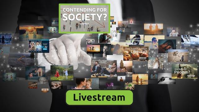 Contending for Society? Livestream