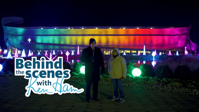 2020 ChristmasTime Lights at the Ark Encounter