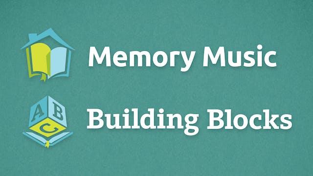 Memory Music & Building Blocks - Bible Curriculum