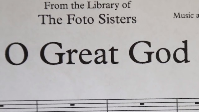 O Great God - Bob Kauflin | Foto Sisters