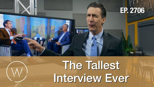 The Tallest Interview Ever
