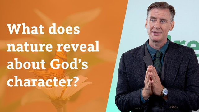 What does nature reveal about God's character?