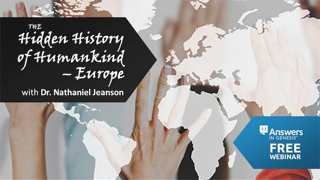 The Hidden History of Humankind: Europe