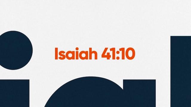 Fear Not (Isaiah 41:10)