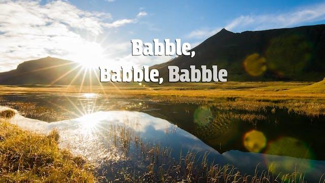 Babel Babel Babel