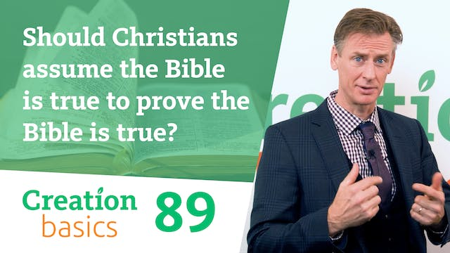 Should Christians assume the Bible is...