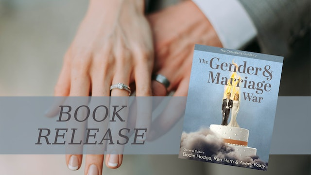 """""""The Gender & Marriage War"""" Is Out!"""