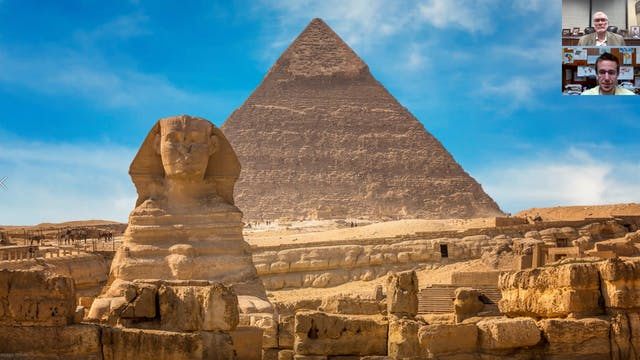 What happened to the ancient Egyptians?