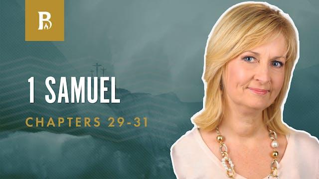 Saul's Tragic End; 1 Samuel 29-31
