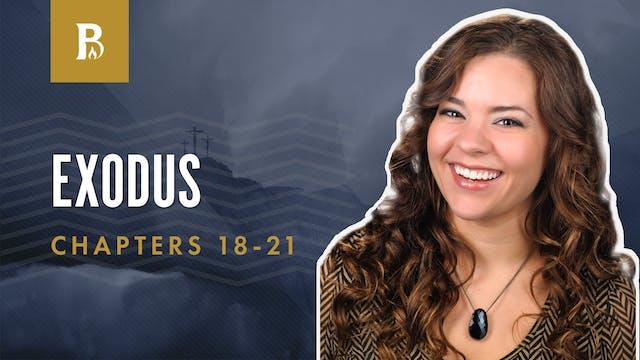 The Ten Commandments; Exodus 18-21